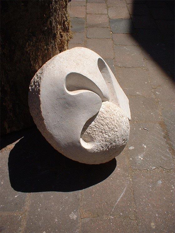 Closed Fern Form Sculpture