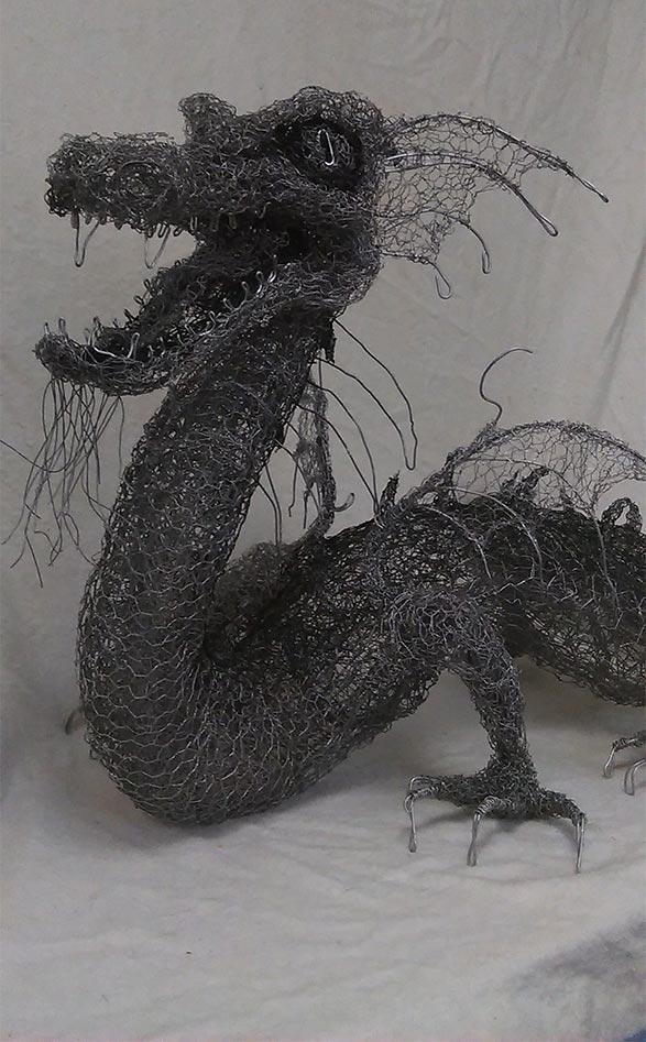 Sussex Knucker Dragon Sculpture